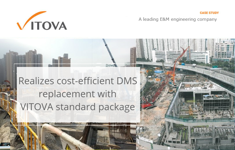Realizes cost-efficient DMS replacement with  VITOVA standard package
